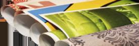 rouleaux de feuilles imprimées